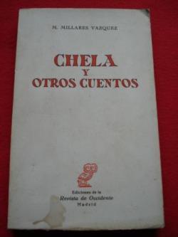 Ver os detalles de:  Chela y otros cuentos