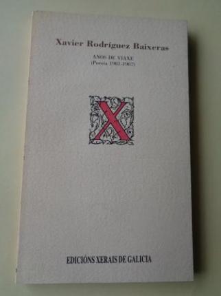 Anos de viaxe (Poesía 1981-1987) - Ver os detalles do produto