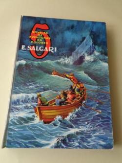 Ver os detalles de:  5 novelas de aventuras: El águila blanca - Un héroe persa - El tigre del mar - Lluvia de fuego - En la costa de oro (Ilustrados en color)