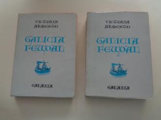 Galicia feudal. Tomos  I e II (1ª edición) - Ver os detalles do produto