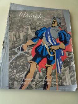 Ver os detalles de:  ATLÁNTIDA. Octubre, 1936. Número conmemorativo del IV Centenario de la ciudad de Buenos Aires
