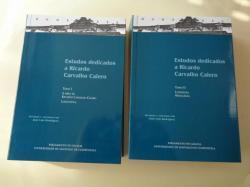 Ver os detalles de:  Estudos dedicados a Ricardo Carvalho Calero. Tomo I: A obra de Ricardo Carvalho Calero / Lingüística - Tomo II: Literatura / Miscelánea