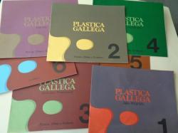 Ver os detalles de:  Plástica Gallega. Pintura, dibujo y escultura. 7 catálogos