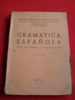 Ver os detalles de:  Gramática Española con lecturas y ejercicios + Programa  de Gramática Española (Primer curso)