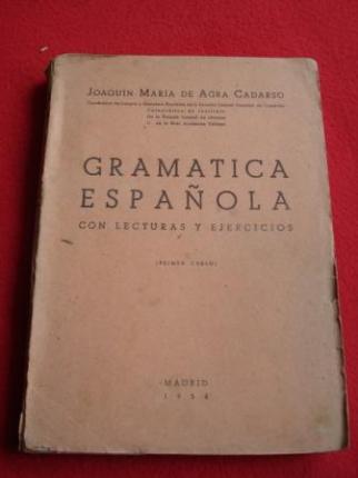 Gramática Española con lecturas y ejercicios + Programa  de Gramática Española (Primer curso)  - Ver os detalles do produto