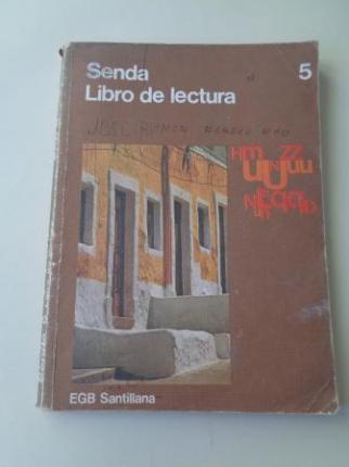 Senda 5. Libro de lectura (1976) - Ver los detalles del producto
