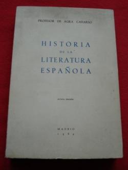 Ver os detalles de:  Historia de la Literatura Española