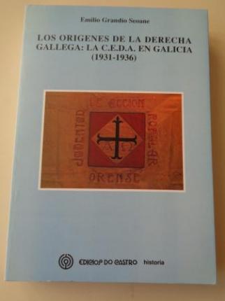 Los orígenes de la derecha gallga: La C.E.D.A. en Galicia (1931-1936) - Ver os detalles do produto