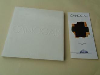 CANOGAR. Catálogo Exposición MACUF, A Coruña, 1996 (con tríptico da exposicón) - Ver os detalles do produto