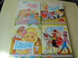 Ver os detalles de:  Fábulas. 4 tomos. Ilustrados por María Pascual