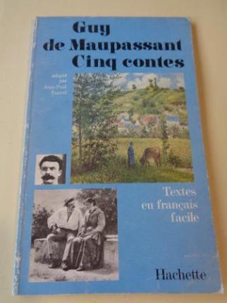 Cinq contes (adapté par Jean-Paul Tauvel). Textes en français facile - Ver os detalles do produto