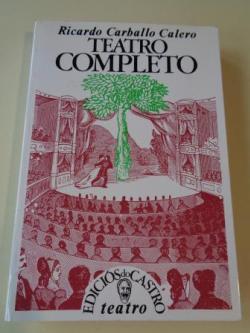 Ver os detalles de:  Teatro completo (O fillo - Isabel - A sombra de Orfeu - Farsa das Zocas - A árbore - Auto do prisioneiro - Os xefes