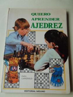 Ver os detalles de:  Quiero aprender ajedrez (Ilustrado por Tony Street)