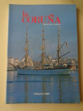 LA CORUÑA PARAISO DEL TURISMO. Verano 1989. Publicación anual - Ver os detalles do produto