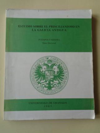 Estudio sobre el Priscilianismo en la Galicia antigua (Tesis doctoral) - Ver os detalles do produto