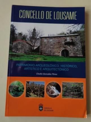 Concello de Lousame (A Coruña). Patrimonio arqueolóxico, histórico artístico e arquitectónico - Ver los detalles del producto