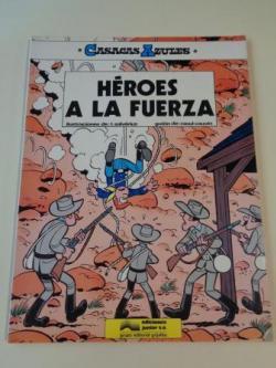 Ver os detalles de:  Héroes a la fuerza. Casacas Azules, nº 1