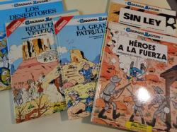 Ver os detalles de:  Colección Casacas Azules Números 1 a 5: Héroes a la fuerza - Sin ley - La gran patrulla - Reclutas y veteranos - Los desertores