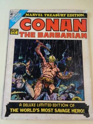 Conan the barbarian. Vol. 1, No. 4 - Marvel Treasury Edition (1975) (In english) - Ver os detalles do produto