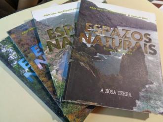 Espazo naturais. 4 tomos. A Coruña - Lugo - Ourense- Pontevedra - Ver los detalles del producto