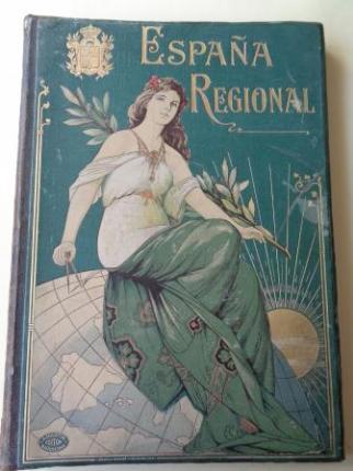 España Regional. Descripción y Cartas Corográficas. 50 planos a doble página - Ver os detalles do produto