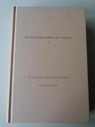 Romanceiro Xeral de Galicia, I. Os romances tradicionais de Galicia. Catálogo exemplificado dos seus temas - Ver los detalles del producto