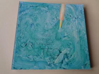 TEO SORIANO. Codo manchado de azul turquesa. Catálogo Exposición Kiosko Alfonso, A Coruña, 2011 - Ver os detalles do produto