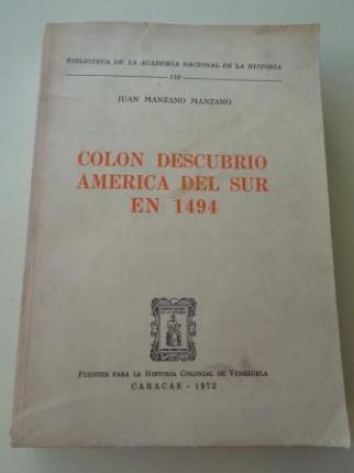 Colón descubrió América del Sur en 1494 - Ver os detalles do produto
