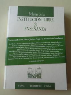 Ver os detalles de:  Boletín de la Institución Libre de Ensañanza. II época. Diciembre 2010. Nº 78-79-80