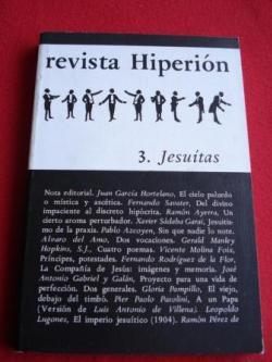 Ver os detalles de:  REVISTA HIPERIÓN. NÚM. 3 - JESUITAS