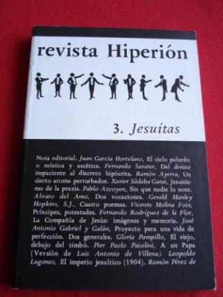 REVISTA HIPERIÓN. NÚM. 3 - JESUITAS - Ver os detalles do produto