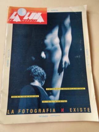 LA LUNA DE MADRID. Nº 31. Septiembre 1986. Número especial: La fotografía N existe - Ver los detalles del producto