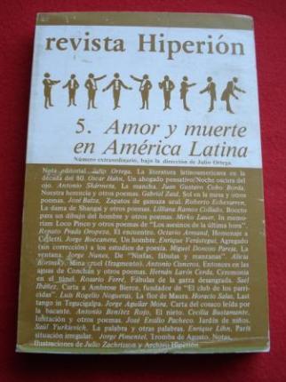 REVISTA HIPERIÓN. NÚM. 5 - Otoño 1980 - Amor y muerte en América Latina - Ver os detalles do produto