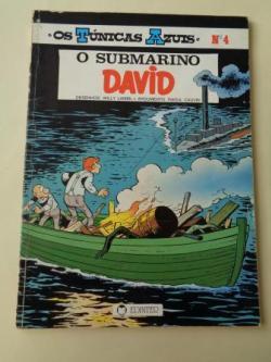 Ver os detalles de:  O submarino David. Os Túnicas Azuis, nº 4 (En portugués)