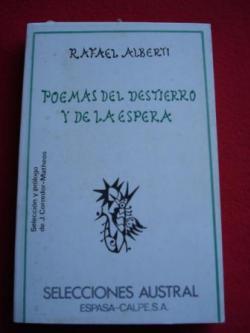 Ver os detalles de:  Poemas del destierro y de la espera (Antología)