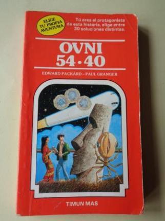 OVNI 54-40. Colección Elige tu propia aventura, nº 6 - Ver os detalles do produto