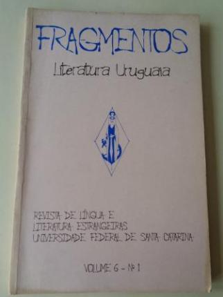 FRAGMENTOS. Revista de língua e literatura estrangeiras. Universidade de Santa Catarina. Volume 6. Nº 1 - Ver los detalles del producto