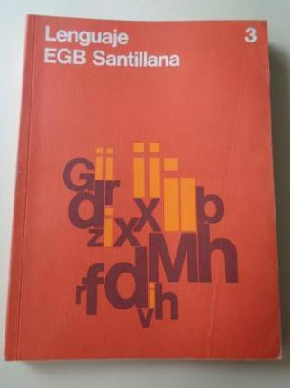 Lenguaje 3. EGB (Santillana, 1979) - Ver os detalles do produto
