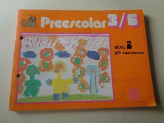 Preescolar 3/6. Nivel 2 . 2º Trimestre - Fichas para alumnado (Editorial Cincel, 1981) - Ver os detalles do produto