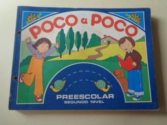 POCO A POCO. Preescolar. Segundo Nivel. Fichas para alumnado (Santillana, 1980) - Ver os detalles do produto