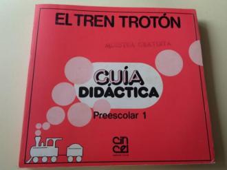EL tren trotón. Guía didáctica. Preescolar 1 (Editorial Cincel, 1985) - Ver os detalles do produto