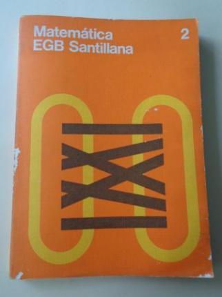 Matemática 2 (Santillana, 1976) - Ver os detalles do produto
