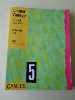 Ver os detalles de:  Lingua Galega 5º EXB. Ciclo Medio. Canles (Editorial Xerais, 1988)