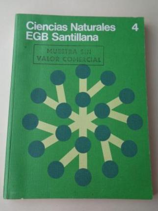 Ciencias Naturales 4. EGB (Santillana, 1978) - Ver los detalles del producto