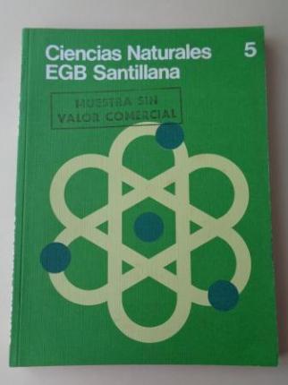 Ciencias Naturales 5. EGB (Santillana, 1976) - Ver los detalles del producto