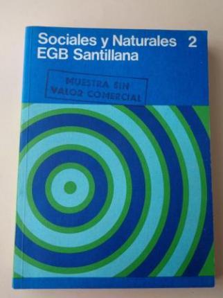 Sociales y Naturales 2. EGB (Santillana, 1977) - Ver os detalles do produto