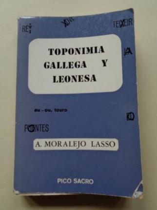 Toponimia gallega y leonesa - Ver los detalles del producto