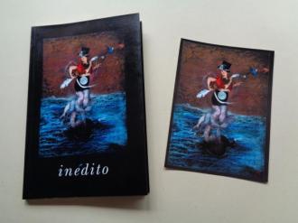 Inédito (Cuaderno en blanco + postal en color) - Ver los detalles del producto