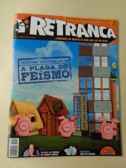 Ver os detalles de:  RETRANCA. Revista mensual de humor galego, nº 1. Novembro, 2007