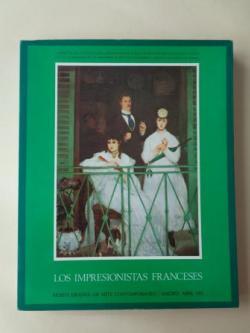 Ver os detalles de:  Los impresionistas franceses. Catálogo Exposición Museo Español de Arte Contemporáneo, Madrid, 1971